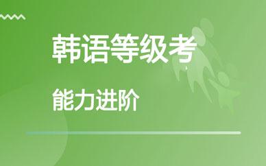 郑州考级韩语强化课程