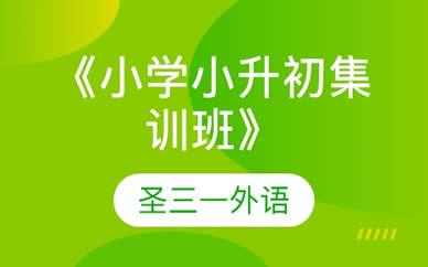 郑州小学小升初集训班培训课程