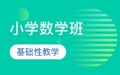 郑州小学数学辅导班