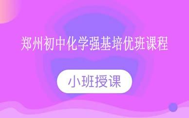 郑州初中化学强基培优班课程