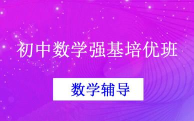 郑州初中数学强基培优班课程
