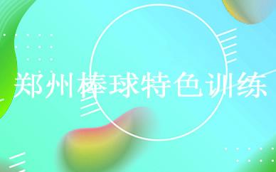 郑州棒球特色训练课程