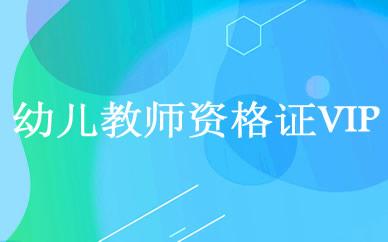 郑州幼儿教师资格证VIP培训课程