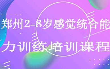 郑州2-8岁感觉统合能力训练培训课程