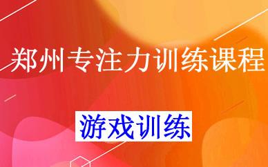 郑州专注力训练课程