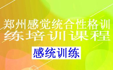 郑州感觉统合性格训练培训课程