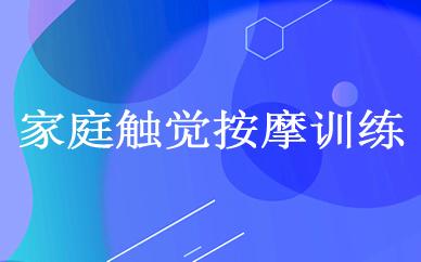 郑州家庭触觉按摩训练课程