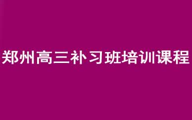 郑州高三补习班培训课程_郑州高考艺术生辅导课程