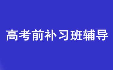 郑州高考前补习班辅导课程