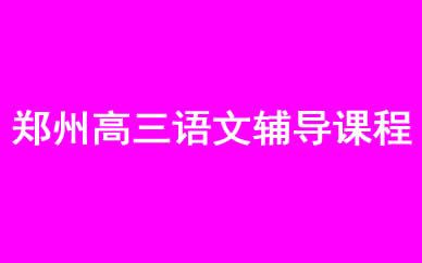 郑州高三语文辅导课程_郑州高考语文冲刺辅导