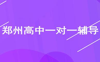 郑州高中一对一辅导课程