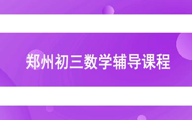 郑州初三语文辅导课程