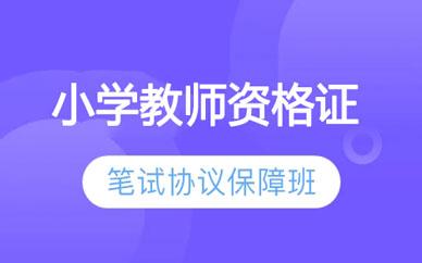郑州小学教师资格证保障班
