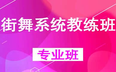 郑州街舞系统教练班辅导课程