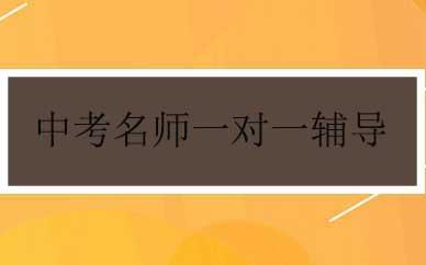 郑州中考名师一对一辅导课程