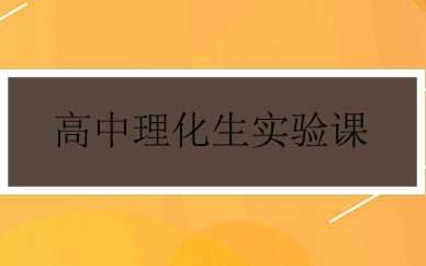 郑州高中理化生实验课辅导课程