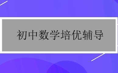 郑州初中数学培优辅导课程