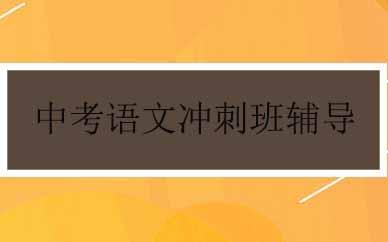 郑州中考语文冲刺班辅导课程