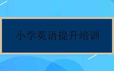 郑州小学英语提升培训课程
