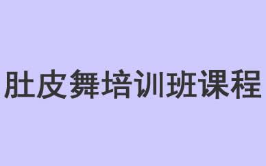 郑州肚皮舞培训班课程