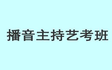 郑州播音主持艺考培训班课程