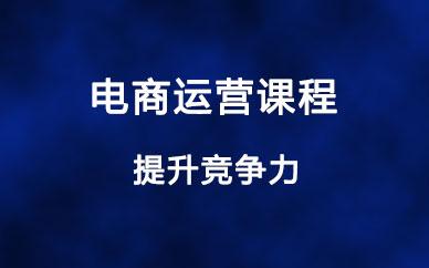 郑州高级电商运营课程
