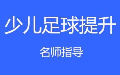 郑州少儿足球球技提升班课程