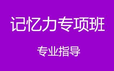 郑州记忆力专项训练辅导课程