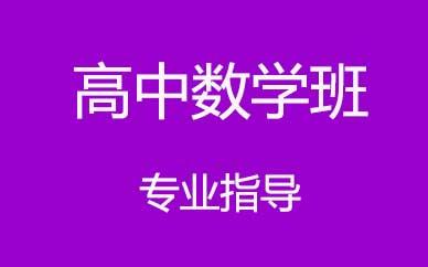 郑州高中数学提升培训课程_郑州高中数学冲刺提升课程