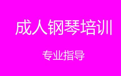 郑州成人钢琴培训课程
