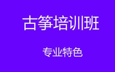 郑州声乐古筝培训课程